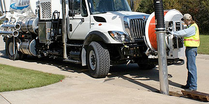 Combination Sewer Cleaner Rental