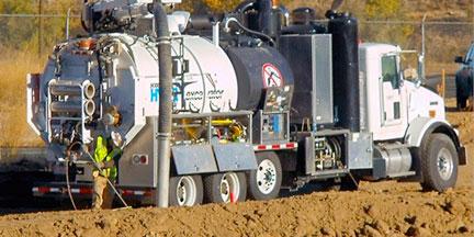 Vacuum & Hydro Excavators