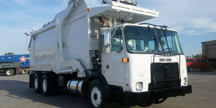 Trash Garbage Truck Rental